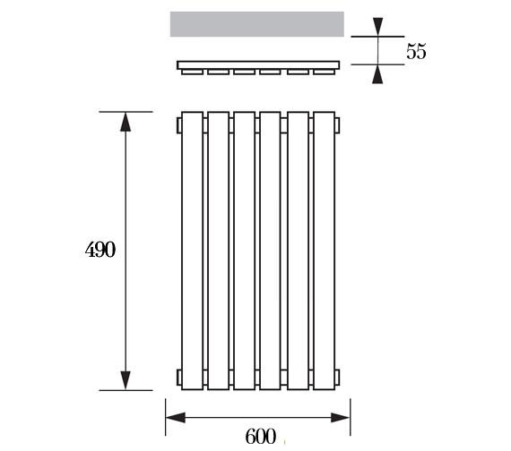 Technical drawing QS-V20989 / ART 04 1 049060