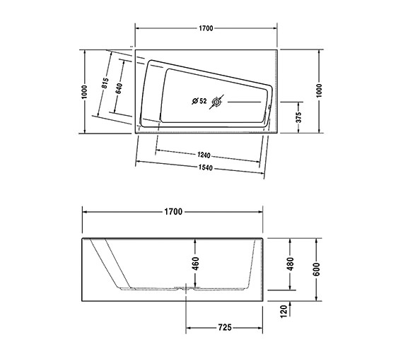 Technical drawing QS-V21144 / 700270000000000
