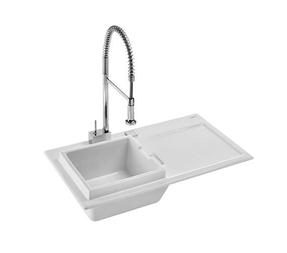 Flush Kitchen Sink : ... kitchens 1 bowl sink duravit starck k 50 flush mount kitchen sink