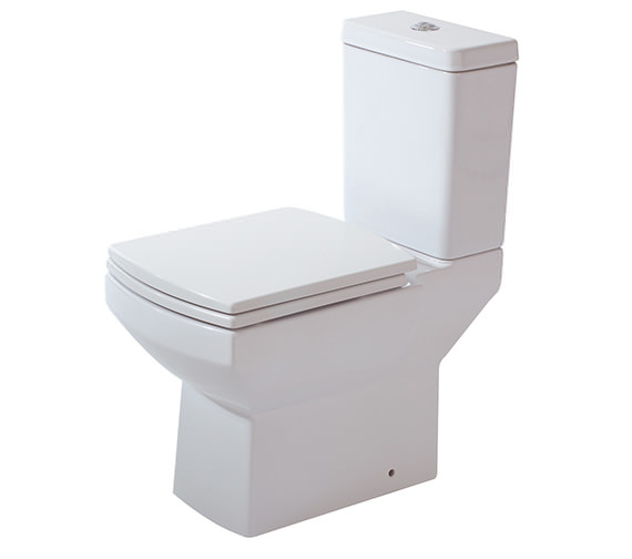 Phoenix Nanno WC With Cistern And Luxury Soft Close Seat 620mm