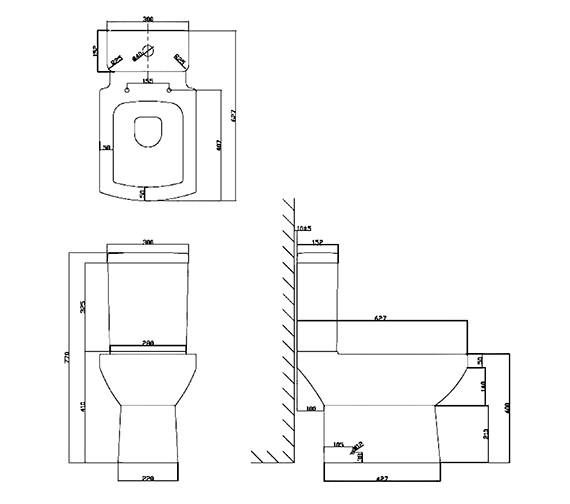 Technical drawing QS-V21203 / NA001