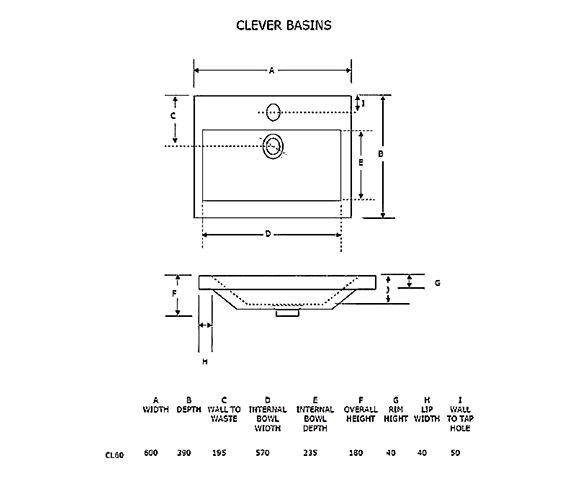 Technical drawing QS-V21246 / CL60