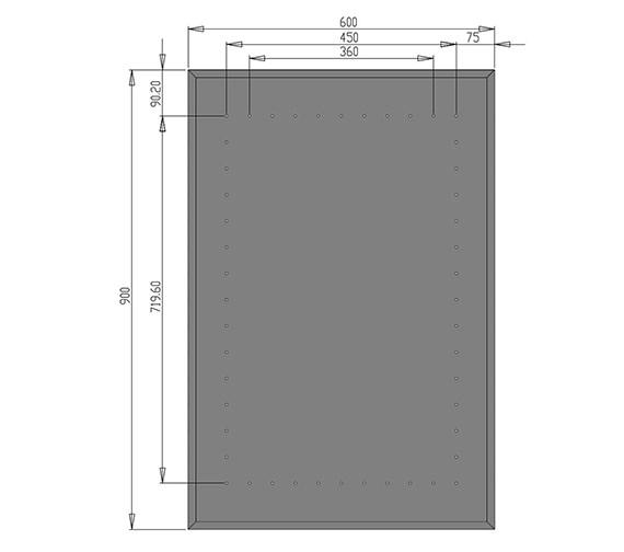 Technical drawing QS-V21318 / MI013