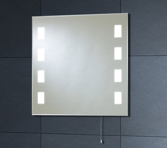 Phoenix Back Lit Mirror 600mm x 600mm With Pull Cord - MI007