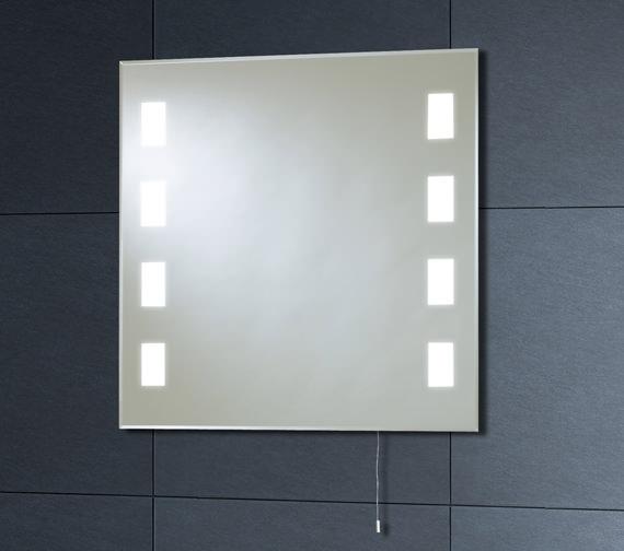 Phoenix Back Lit Mirror 600mm x 600mm With Pull Cord - MI007