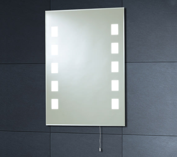 Phoenix Back Lit Mirror 500mm x 700mm With Pull Cord - MI006