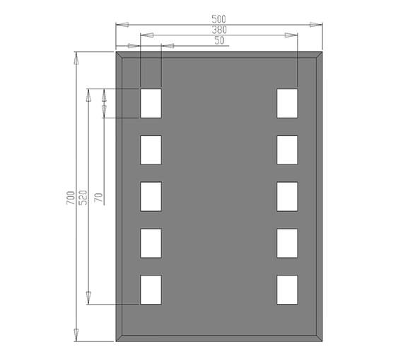 Technical drawing QS-V21321 / MI006