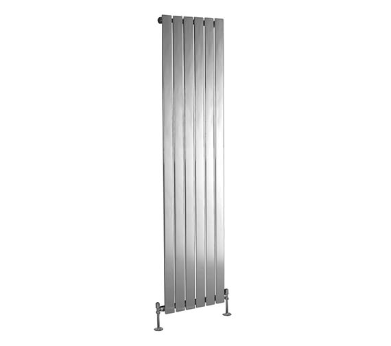 Phoenix Orla 300 x 1200mm Vertical Designer Radiator Chrome