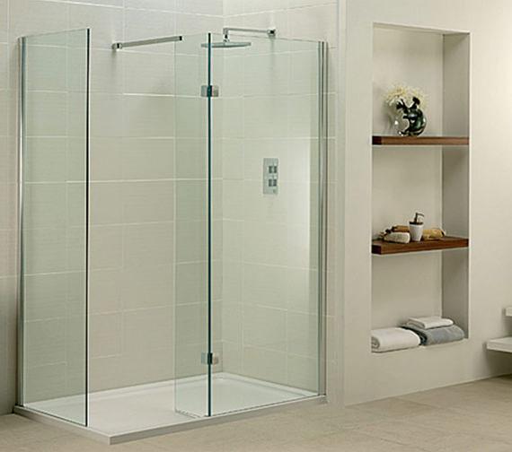 Phoenix Techno View Walk In Single Entry Shower Enclosure - SE070