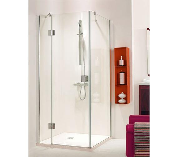 Phoenix Frame-less Hinged Shower Door 800mm - SE079