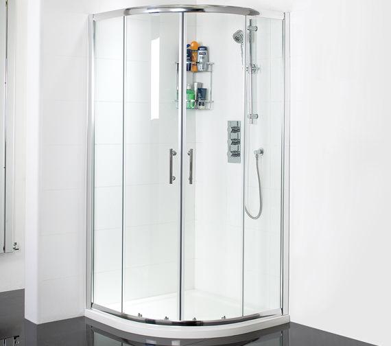 Phoenix Twin Door Quadrant Shower Enclosure 900mm x 900mm - SE019