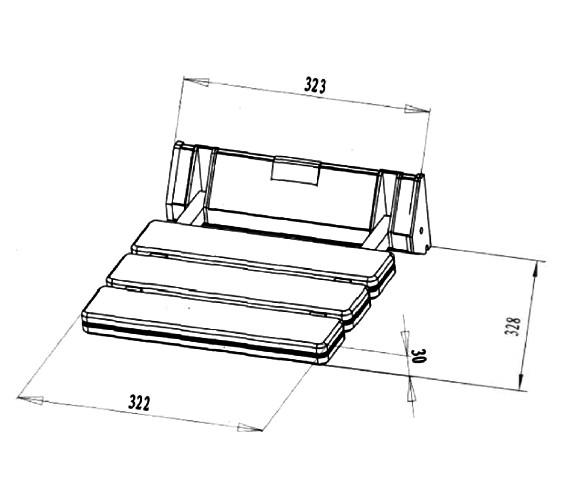 Technical drawing QS-V21441 / SS002