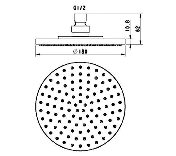 Technical drawing QS-V21496 / SH001