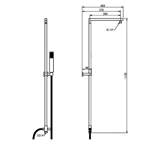Technical drawing QS-V21511 / SK015