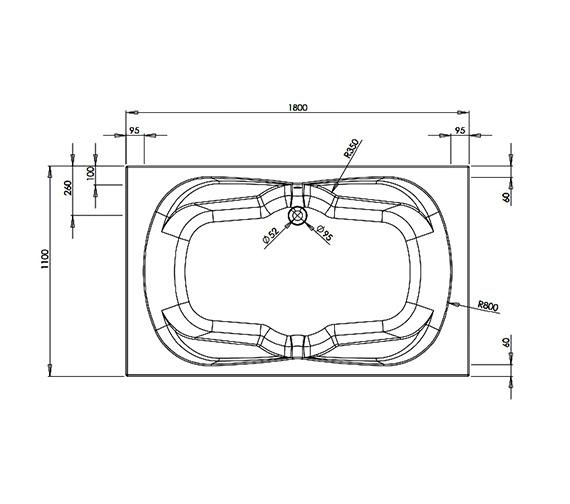 Technical drawing QS-V21523 / ANCBM146S1