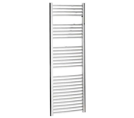 Bauhaus Stream 500 x 1430mm Curved Towel Warmer Chrome - ST50X143C