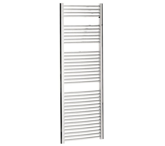 Bauhaus Stream 600 x 1700mm Curved Towel Warmer Chrome - ST60X170C Image