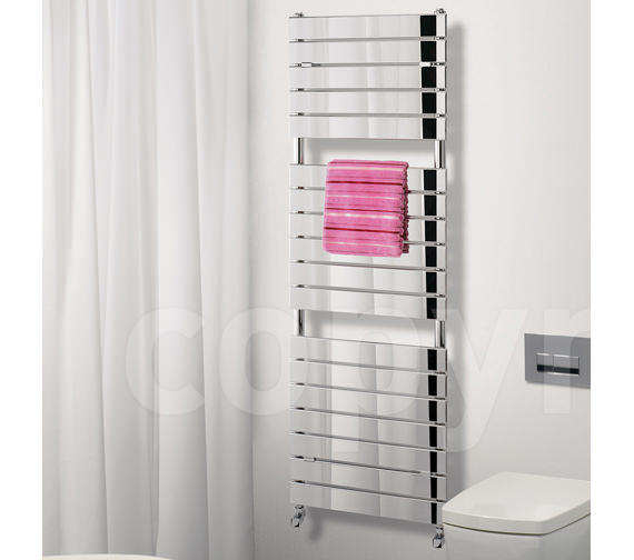 Alternate image of Bauhaus Elite Straight Towel Rail Chrome 500 x 1210mm