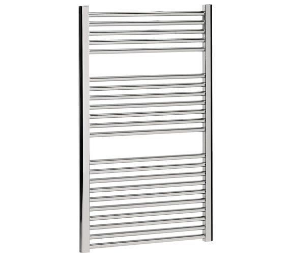Bauhaus Design Flat Panel Towel Rail 600 x 1110mm Chrome - DE60X111C
