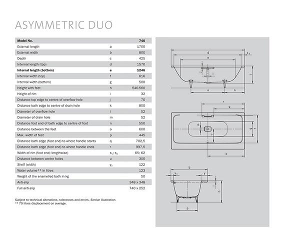 Technical drawing QS-V21620 / 274000010001