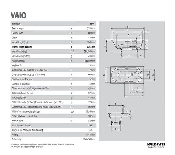 Technical drawing QS-V21629 / 234000010001