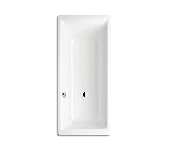 Kaldewei Puro 692 Single Ended 1700 x 800mm Steel Bath With Side Overflow