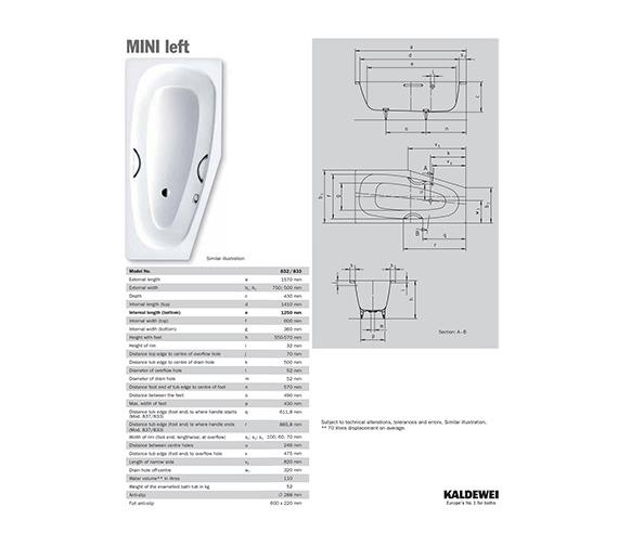 Technical drawing QS-V21636 / 224800010001