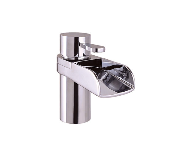 Mayfair Lila Mono Basin Mixer Tap With Click Clack Waste - LIL009