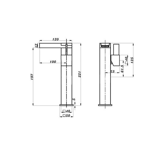 Technical drawing QS-V21736 / DRM029