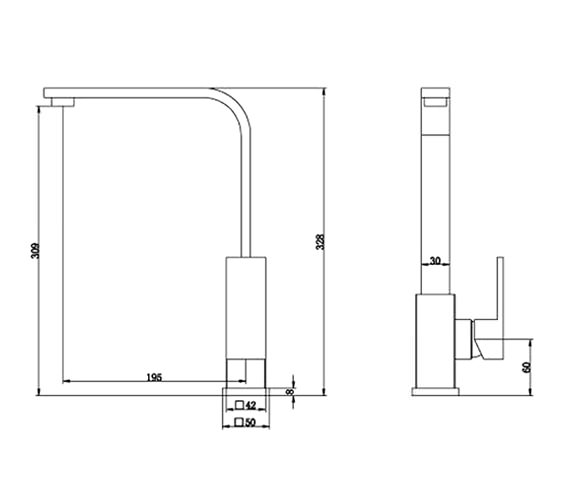 Technical drawing QS-V21750 / KIT151