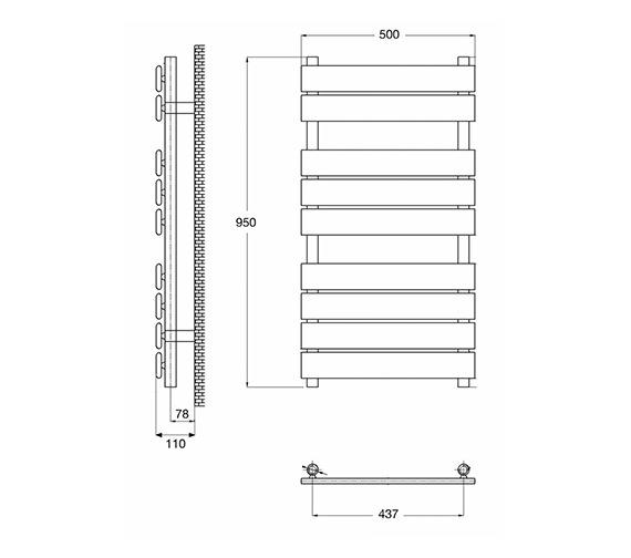 Technical drawing QS-V21828 / HL382