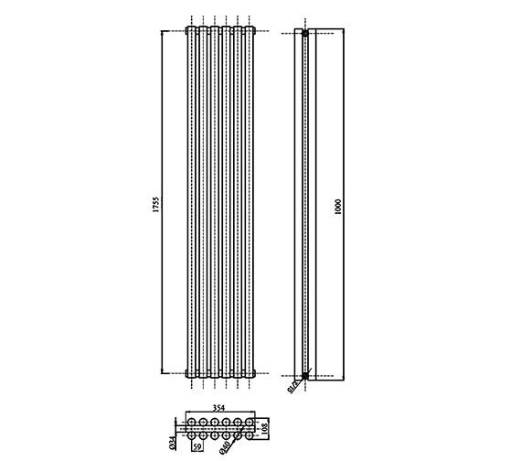 Technical drawing QS-V21844 / HLA92