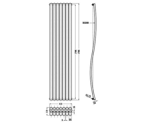 Technical drawing QS-V21847 / HLA95
