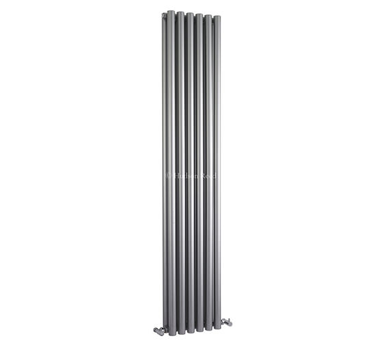 Hudson Reed Savy Double Panel Radiator 354 x 1800mm Silver - HLS92
