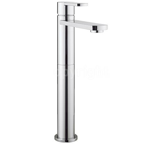 Crosswater Wisp Tall Monobloc Basin Mixer Tap - WP112DNC