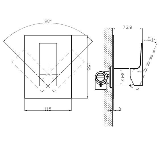 Technical drawing QS-V21907 / SO0004RC