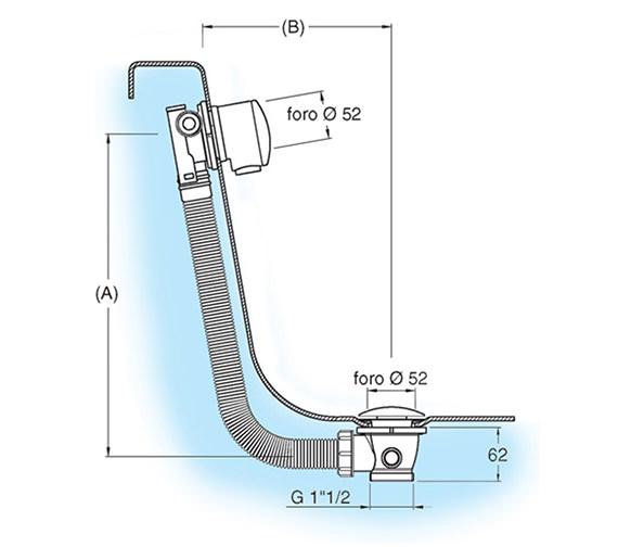 Technical drawing QS-V21947 / BFW0301C