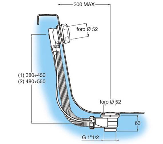 Technical drawing QS-V21965 / BTW0241C