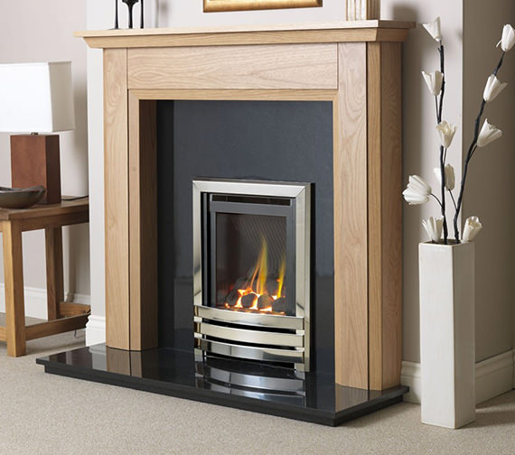Linear HE Manual Control Full Depth Gas Fire Chrome-Coal - FHLCX0MN2