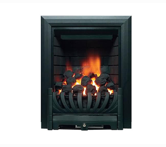 Be Modern Avantgarde Traditional Inset Gas Fire Black