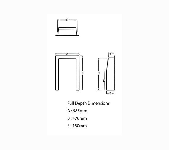Technical drawing QS-V22016 / 9555