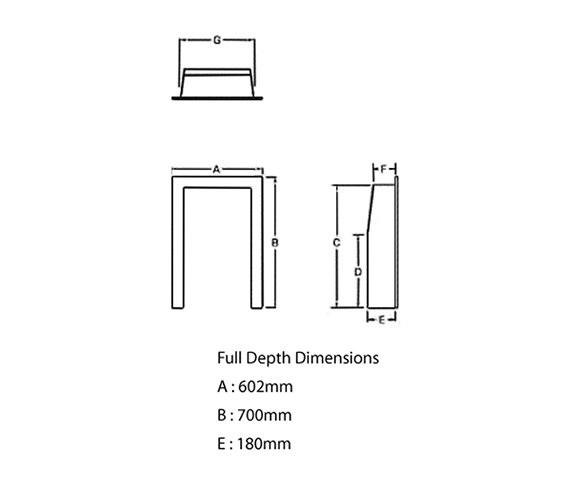 Technical drawing QS-V22033 / 32131