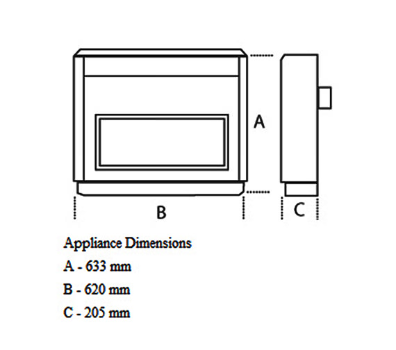 Technical drawing QS-V22040 / 0534771