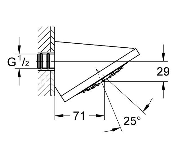 Technical drawing QS-V22228 / 27253000