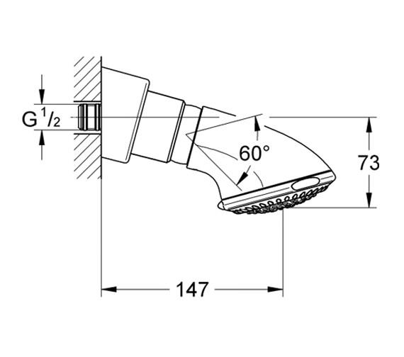 Technical drawing QS-V22235 / 28513000