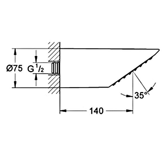 Technical drawing QS-V22238 / 28308000