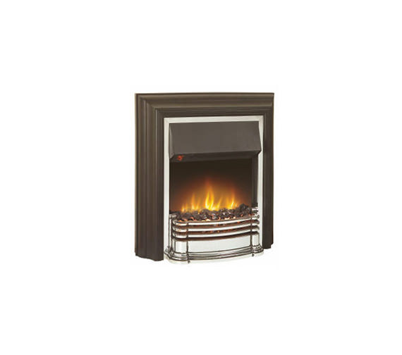 Dimplex Detroit Manual Control Outset Electric Fire Black-Chrome DTT20