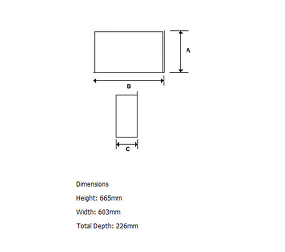 Technical drawing QS-V22260 / DTT20