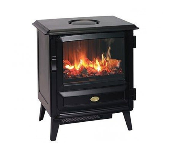 Dimplex Piermont Opti-Myst Manual Control Electric Stove Black | PMN20