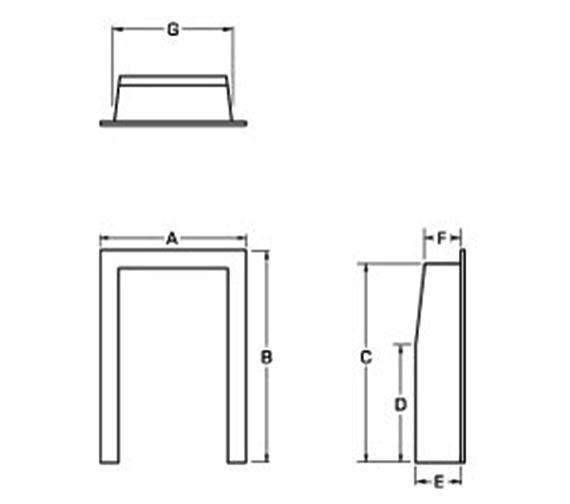 Technical drawing QS-V22279 / 59315
